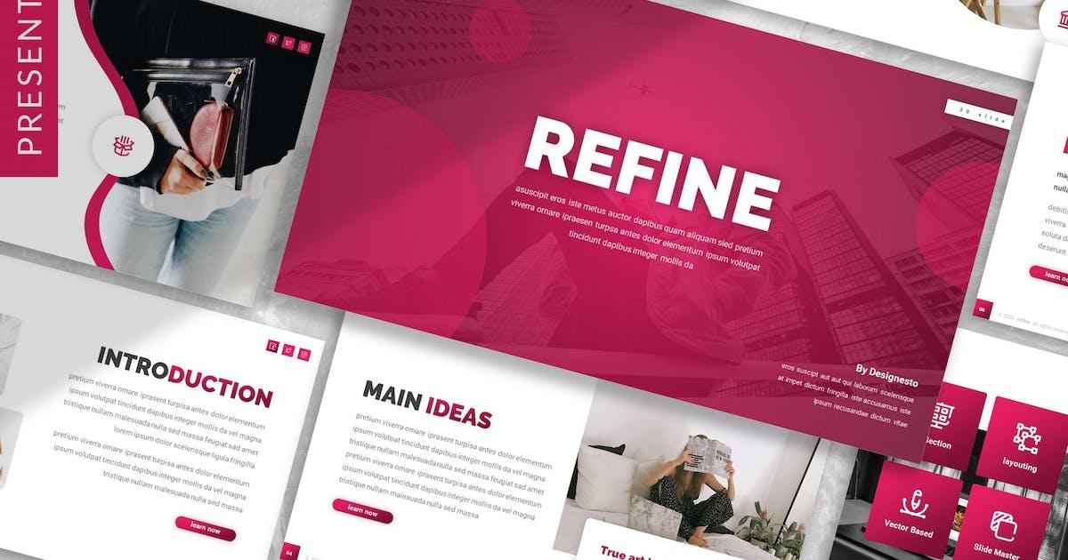 Download Refine - Business Prensentation Template by designesto