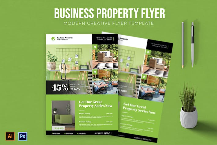 Thumbnail for Business Property - Flyer