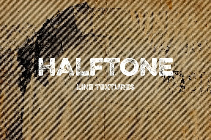 Thumbnail for Halftone Line Textures