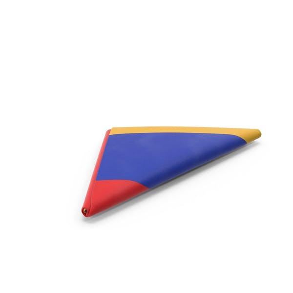 Flag Folded Triangle Armenia