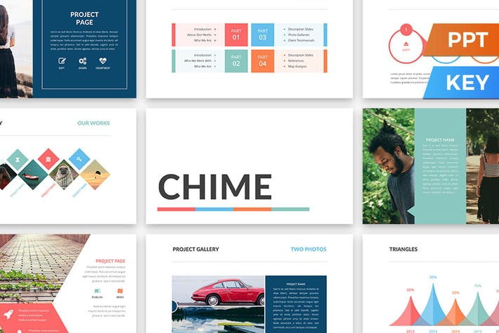 Thumbnail for Chime Presentation Template