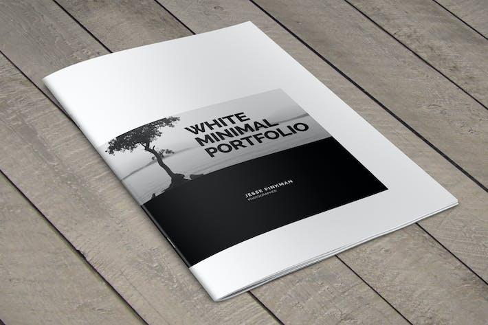 Thumbnail for White Minimal Portfolio