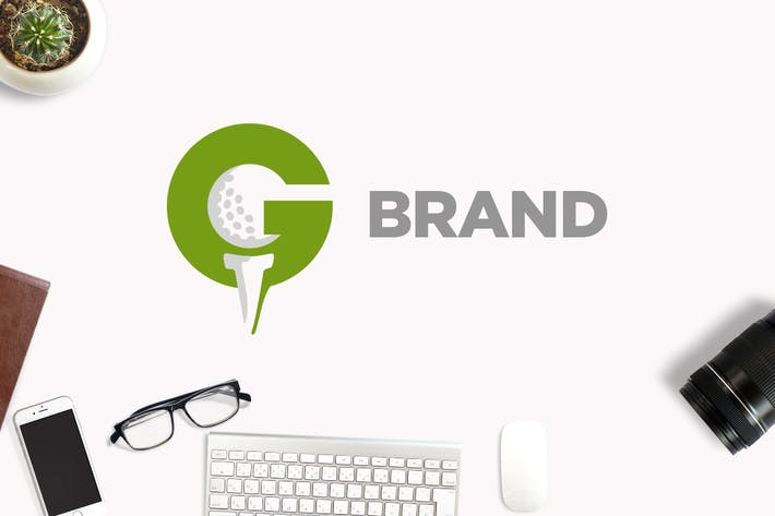 Thumbnail for Golf Letter G Logo