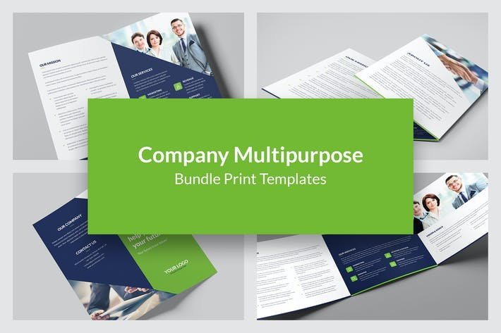 Thumbnail for Company – Brochures Bundle Print Templates 5 in 1