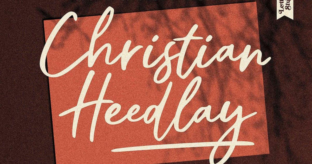 Download Christian Heedlay Signature LS by GranzCreative