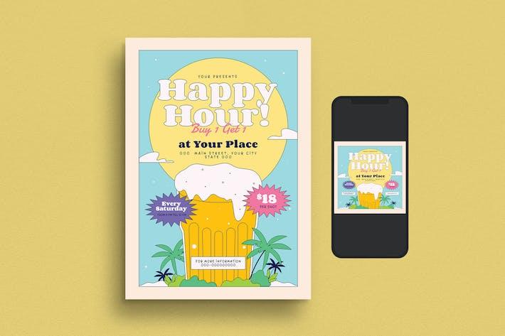 Thumbnail for Summer Beer Fest Flyer Set