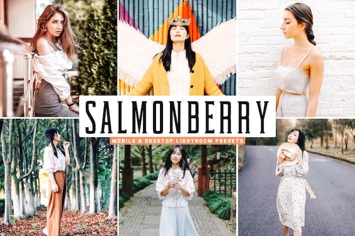 Cover Image For Salmonberry Mobile & Desktop Lightroom Presets