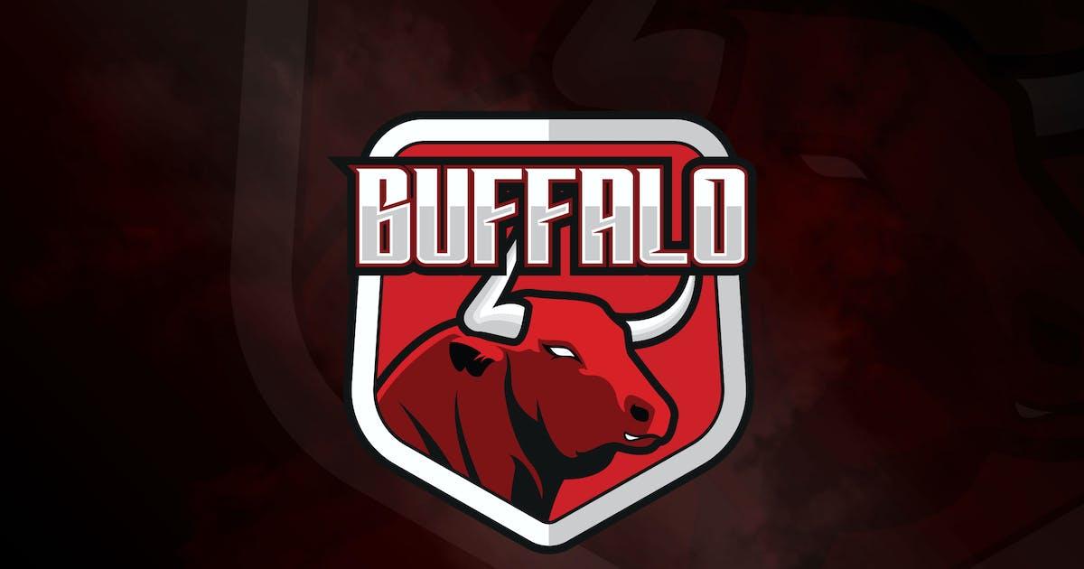 Download Buffalo - Mascot & eSport Logo Template RB by Rometheme