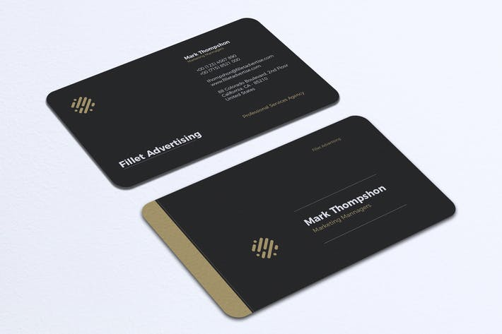 Cover Image For Minimalist Business Card Vol. 27