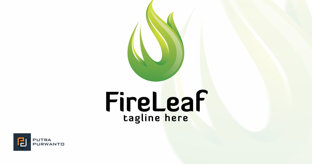 Fire Leaf - Logo Template от putra_purwanto on Envato Elements