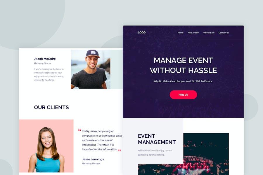 Event Management - Email Newsletter