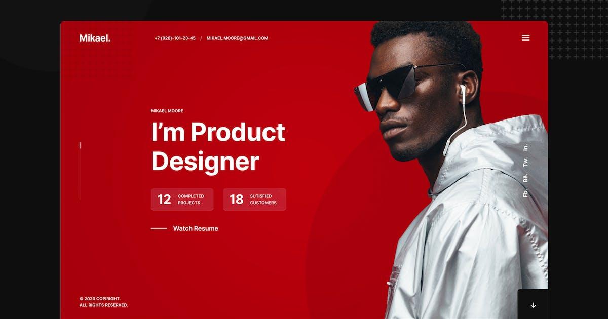 Download Mikael - Modern & Creative CV/Resume WP Theme by VLThemes