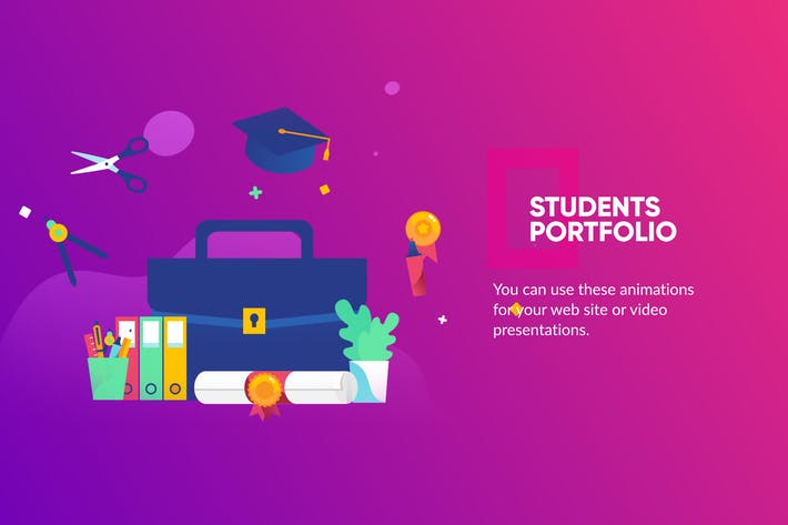 Thumbnail for Education Banner & Landing Page
