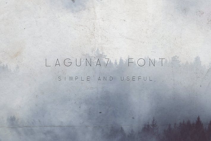 Cover Image For Laguna7 Font