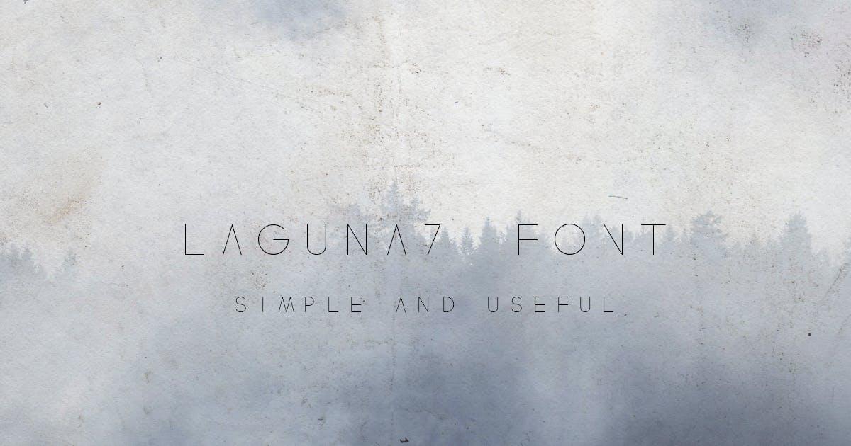 Download Laguna7 Font by vladderkach