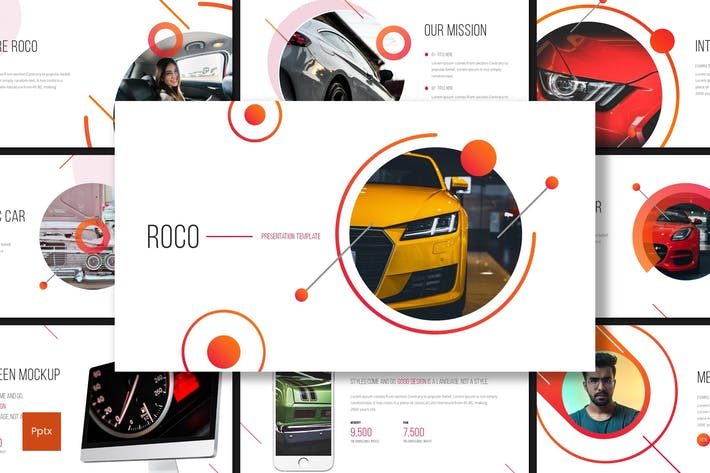 Thumbnail for Roco - Automotive Powerpoint Template