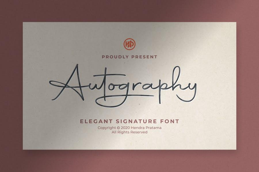 Autography