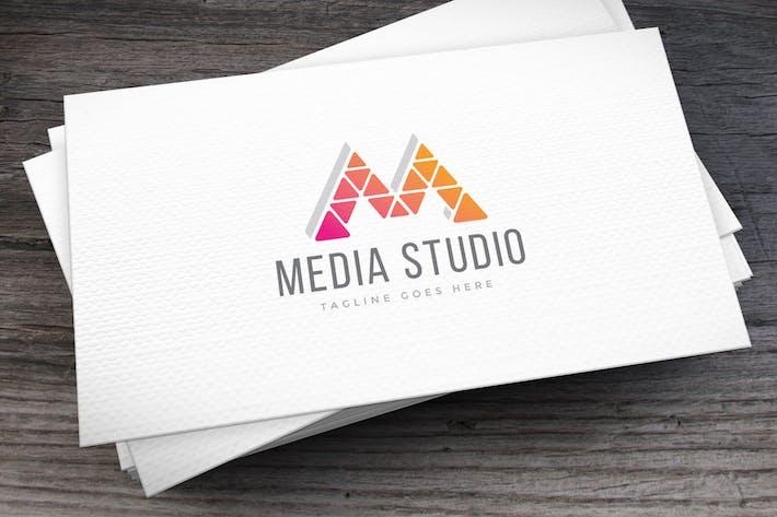 Thumbnail for Media Studio Logo Template