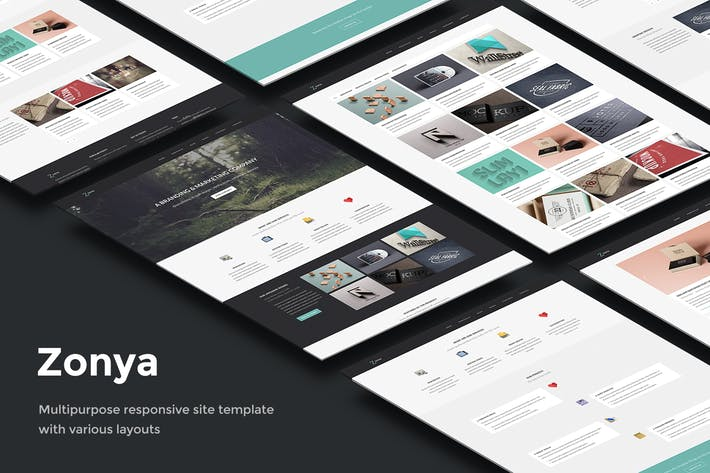 Thumbnail for Zonya - Modelo Multipurpose Responsive Site