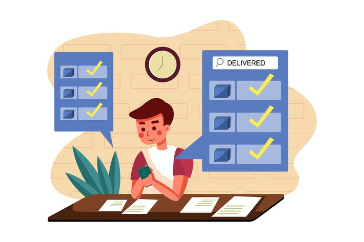 Thumbnail for Suche geliefertes Produktaktions-Konzept