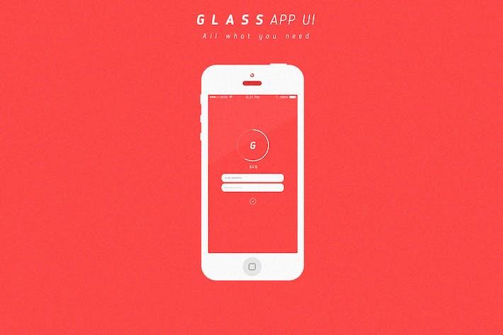 Thumbnail for Glass App UI