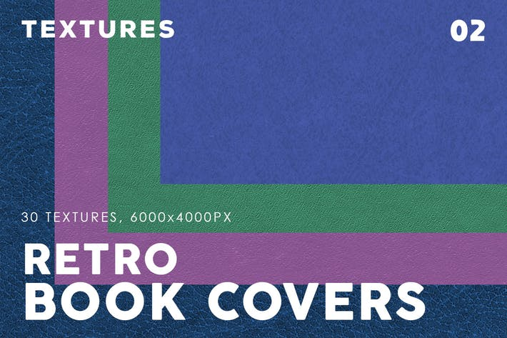 Thumbnail for Retro Book Cover Textures 2