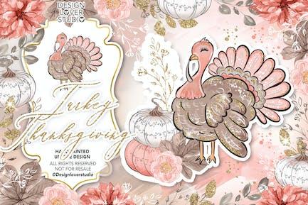 Турция дизайн Дня благодарения