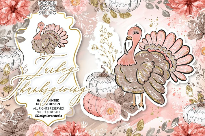 Thumbnail for Turkey Thanksgiving design