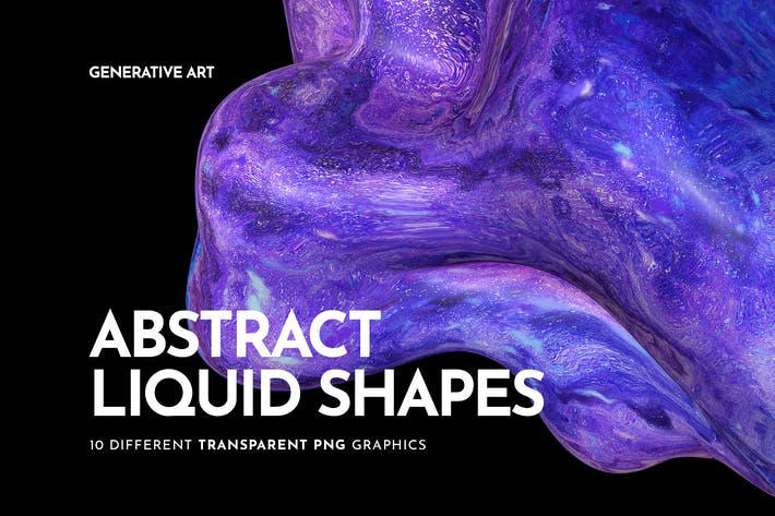 Thumbnail for Liquid Shapes Backgrounds