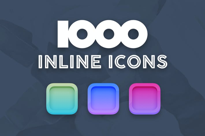 Thumbnail for 1000 inline icons