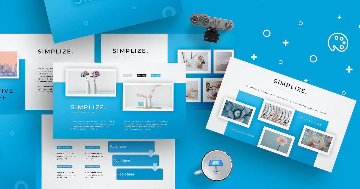 Simplize - Keynote Template by aqrstudio