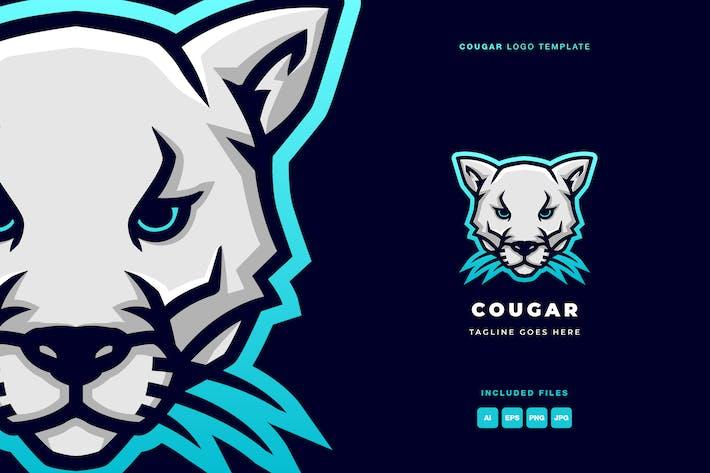 Cougar Logo Template