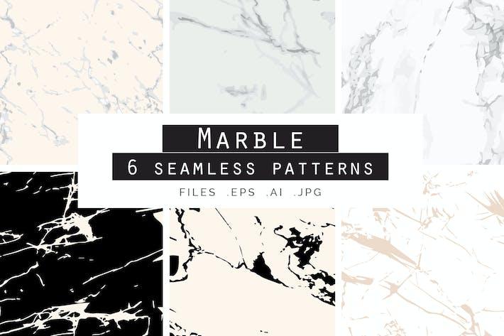 Thumbnail for Motifs Vecteur sans couture en marbre