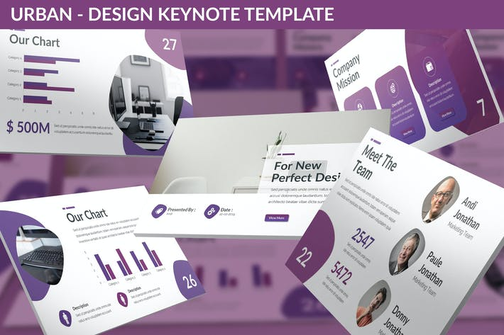 Thumbnail for Urban - Design Keynote Template