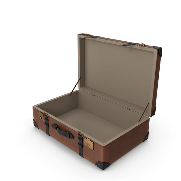 Retro Suitcase Brown