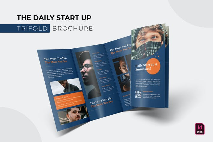Thumbnail for Daily Start Up | Trifold Brochure