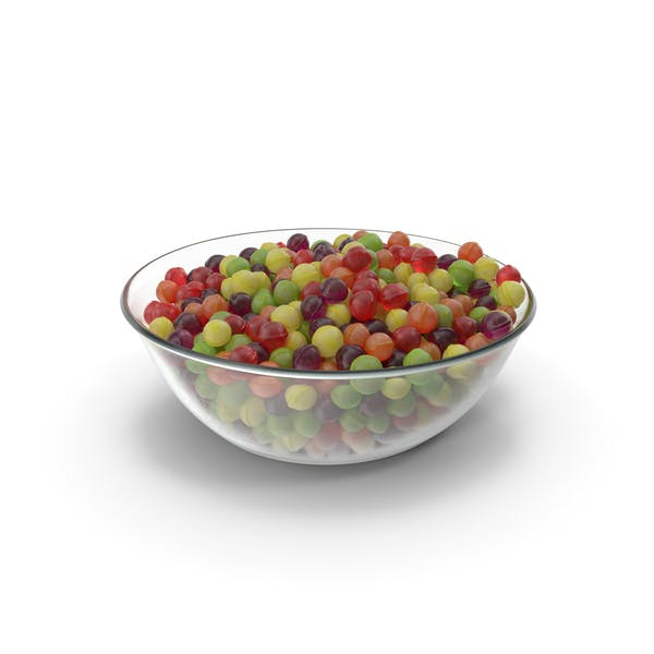 Bowl with Spherical Hard Candy