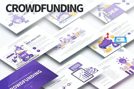 Crowdfunding - Keynote Infographics Slides