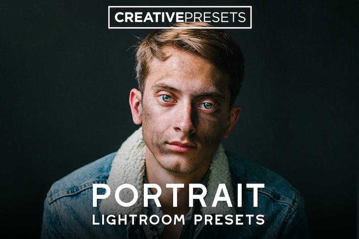 Thumbnail for +80 Portrait Lightroom Presets - Bundle