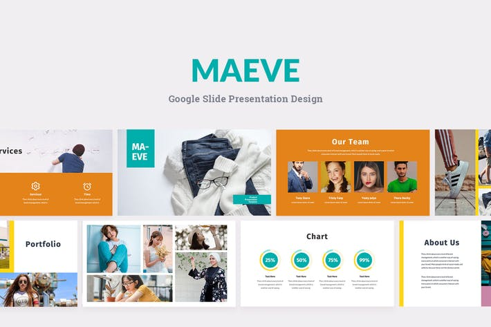 Thumbnail for Maeve - Шаблон презентации Google слайдов