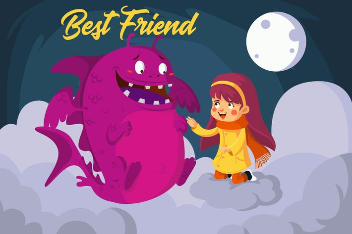 Thumbnail for Best Friend - Vector Illustration