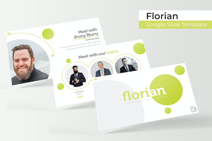 Thumbnail for Florian - Google Slide Template