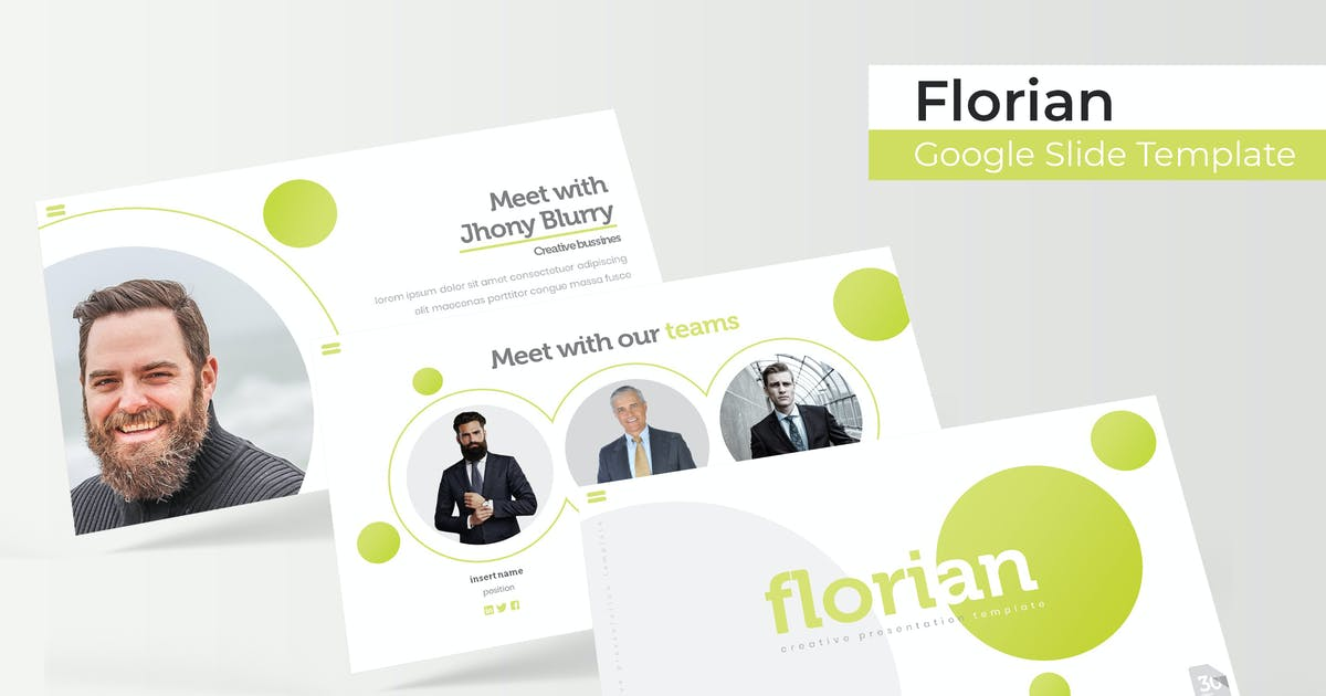 Download Florian - Google Slide Template by IanMikraz