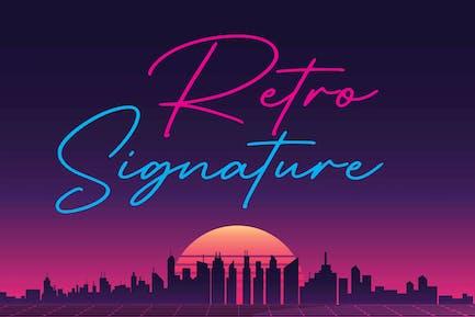 Signature Retro