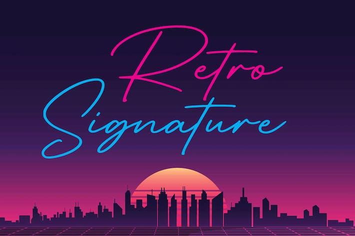 Thumbnail for Signature Retro
