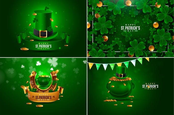 Thumbnail for Saint Patrick's Day Backgrounds