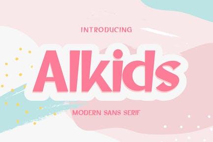 Alkids | Modern Sans Serif