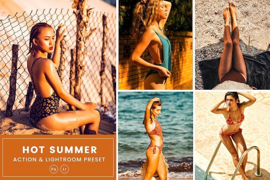 Hot Summer Action & Lightrom Presets