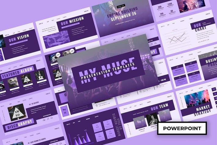 Thumbnail for Muzik - Music Powerpoint Presentation