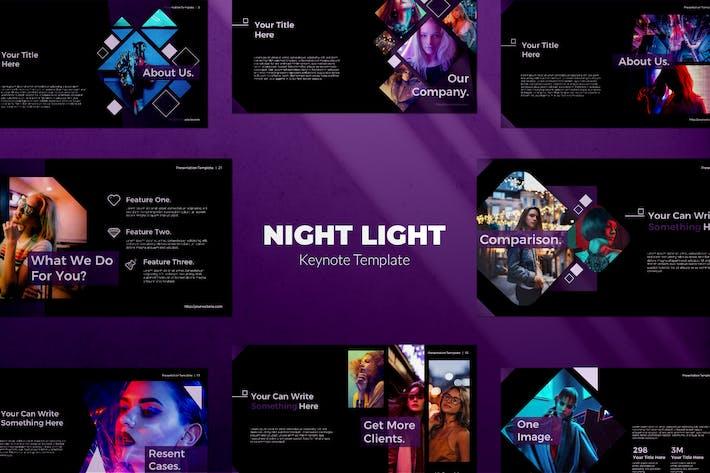 Thumbnail for Keynote ночного света
